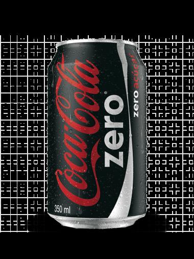 Lata Coca-Cola Zero