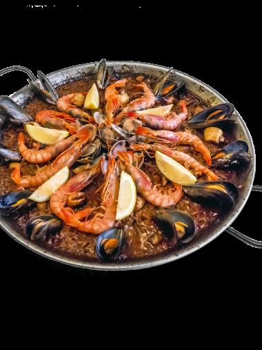 Paella de Gamba Roja