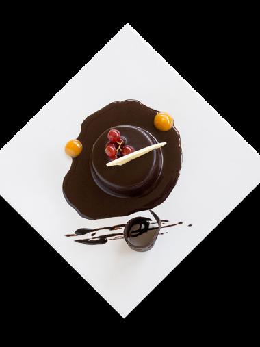 Mousse de Plátano y Chocolate