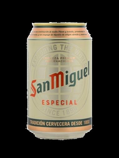 Lata «San Miguel»